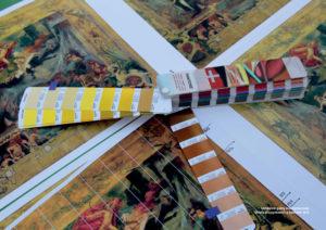 Ustalenie gamy kolorystycznej celem przygotowania zestawu farb